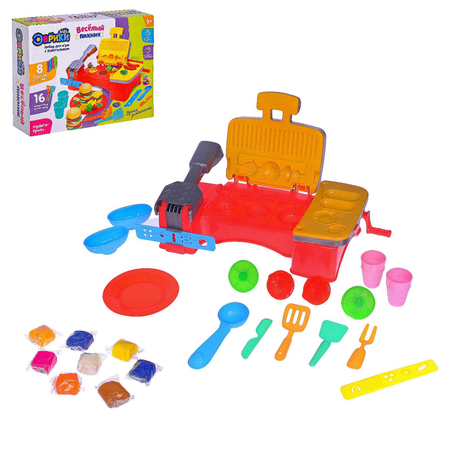 Набор для игры с пластилином «Весёлый пикник»